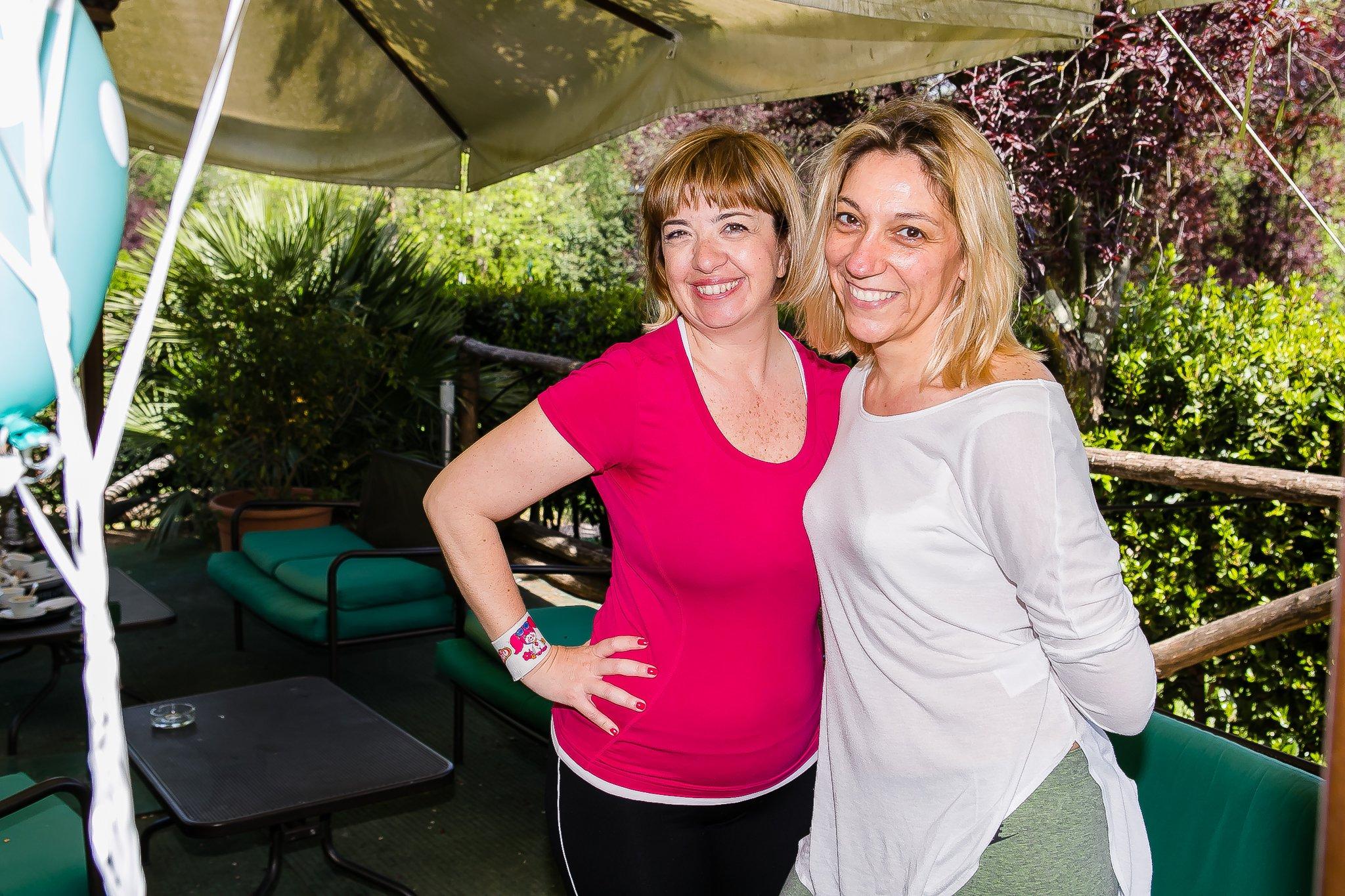 Foto di Claudia e Raffella