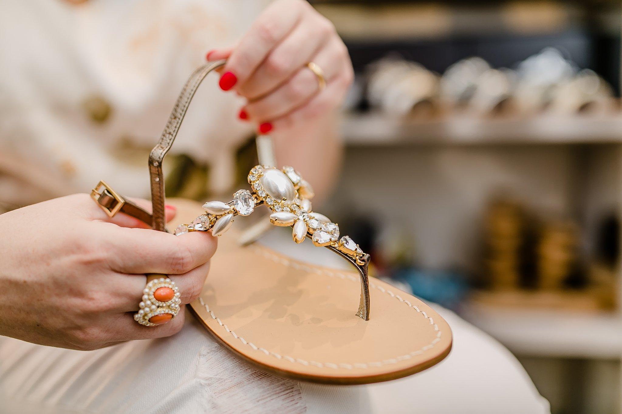 Foto dei sandali gioiello Preludio