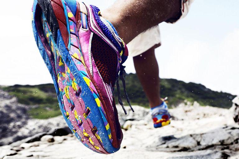 Foto di scarpe da running
