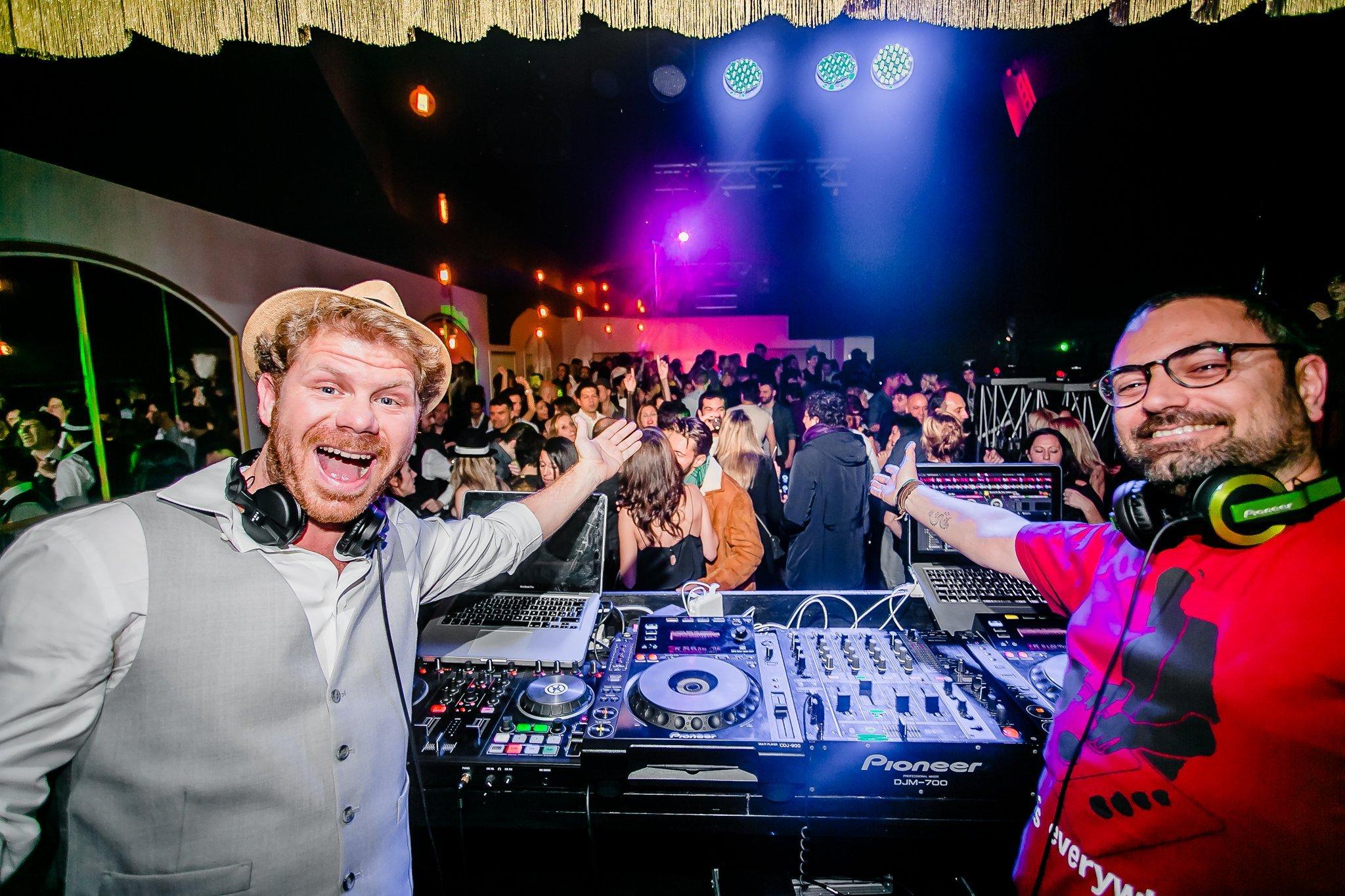 Foto di DJ Goose e DJ Ubi