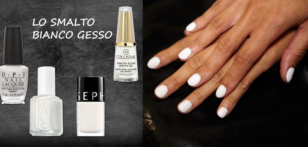 Populaire Smalto bianco per unghie come il gesso ZI31