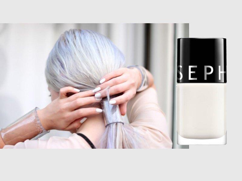 Foto dello smalto Bianco Sephora