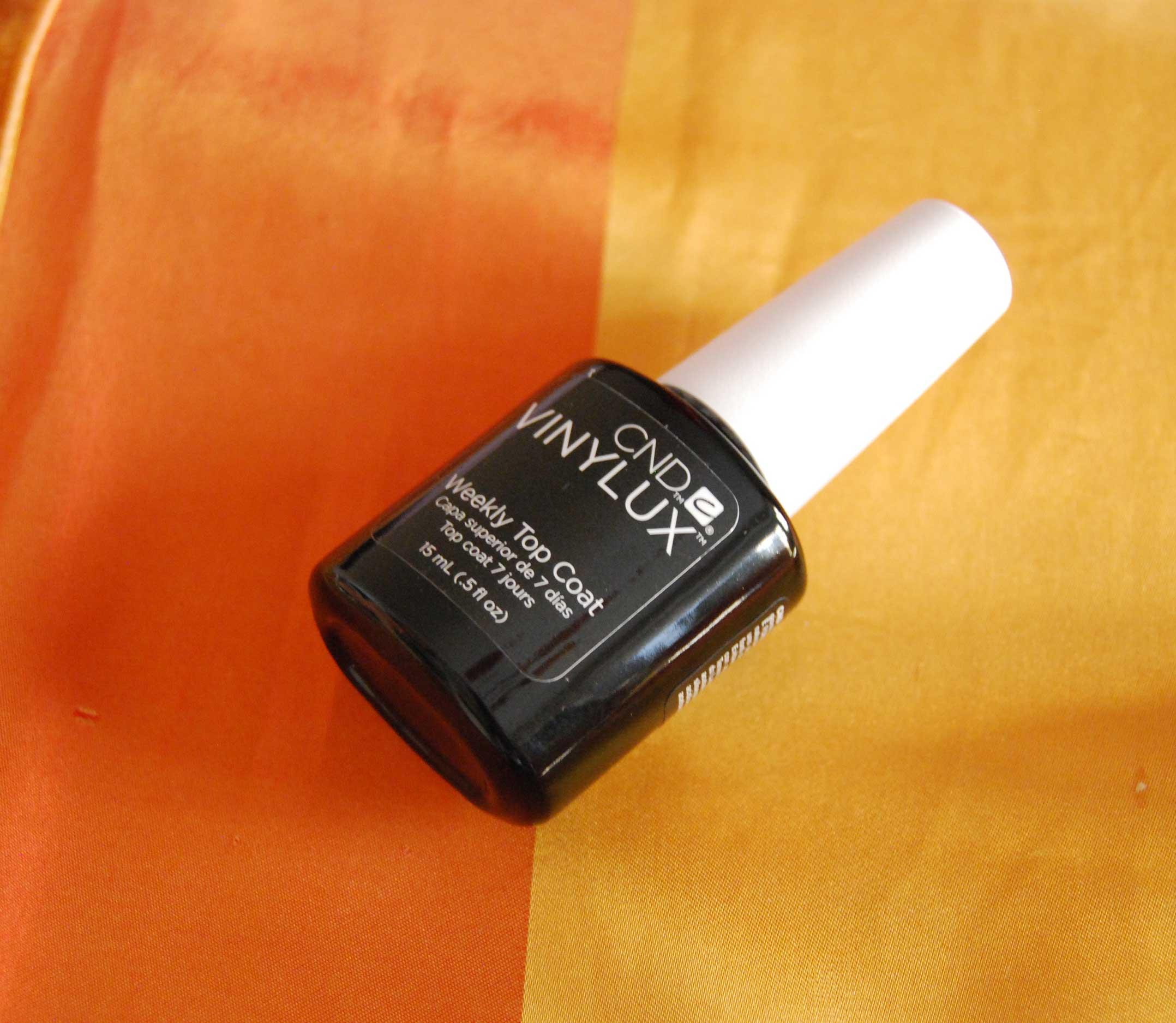 Foto del top coat CND vinylux