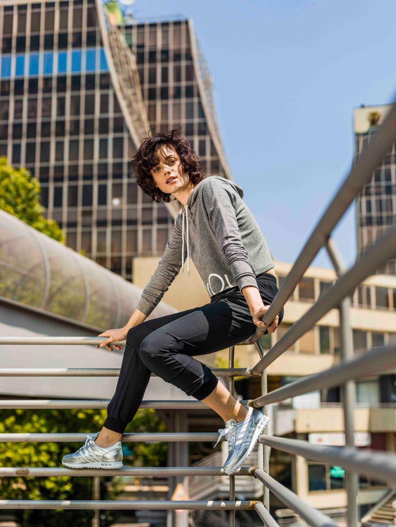 Foto delle sneakers donna Adidas LA Trainer