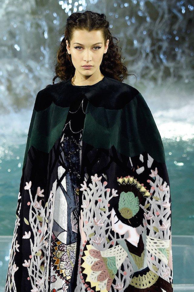 Foto della modella bella hadid