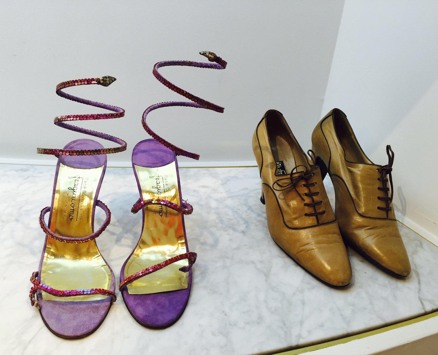 Foto delle scarpe archivio di Fragiacomo