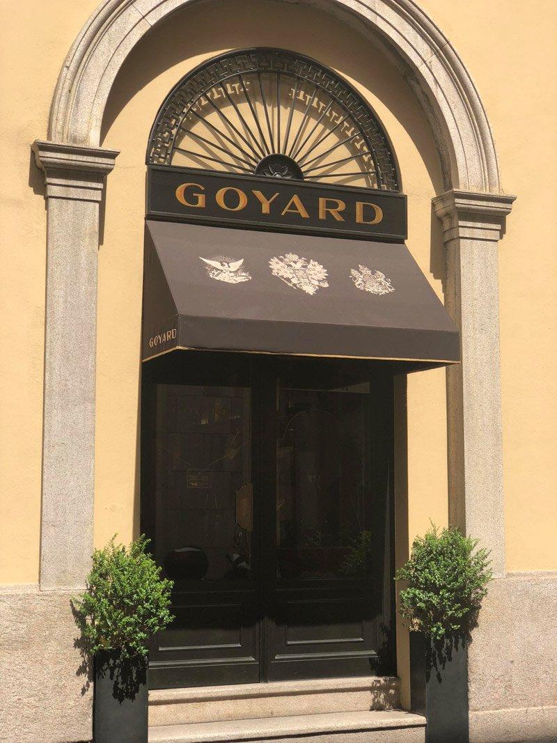 Boutique Goyard Milano
