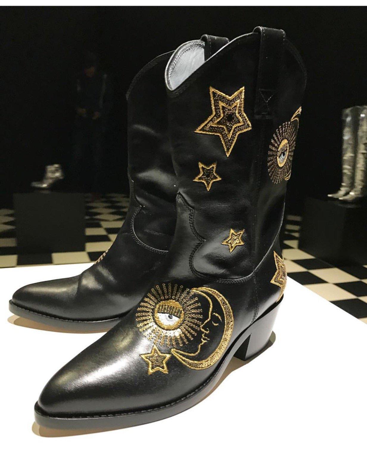 Stivali texani firmati Chiara Ferragni