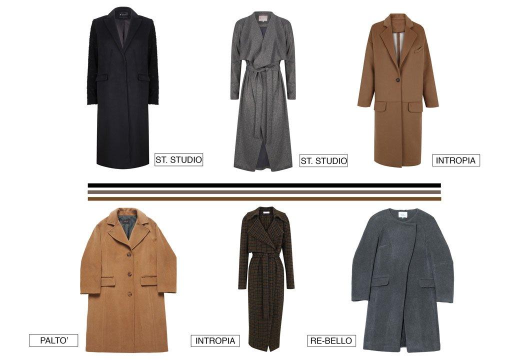 I cappotti dell'inverno 2017