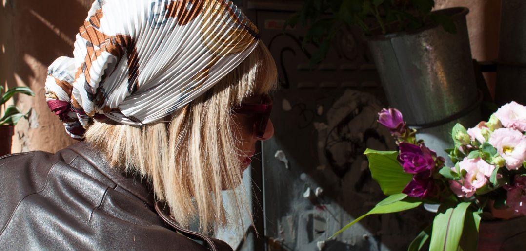 Il foulard per capelli di Hermès
