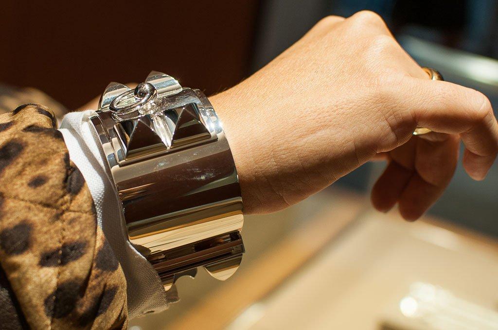 Bracciale d'argento Hermès