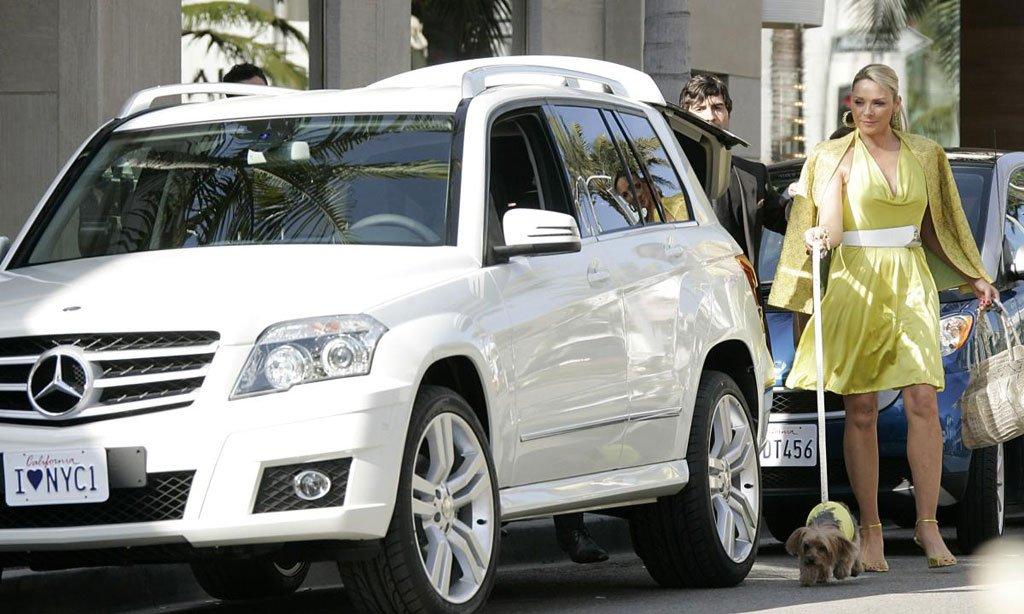 Mercedes GLK bianca