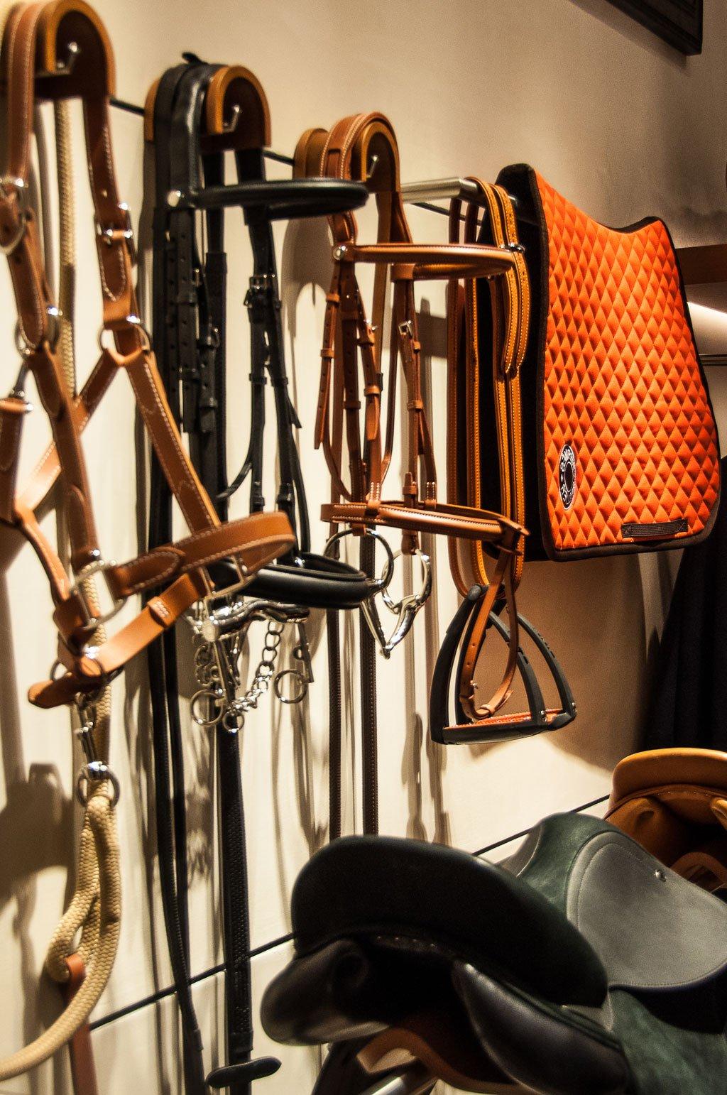 La boutique di Hermès a Roma