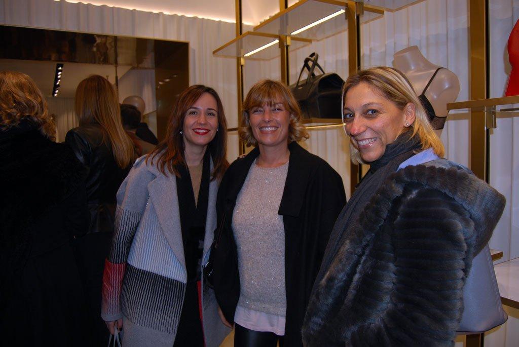 Gli spazi rinnovati della boutique La Perla a Roma