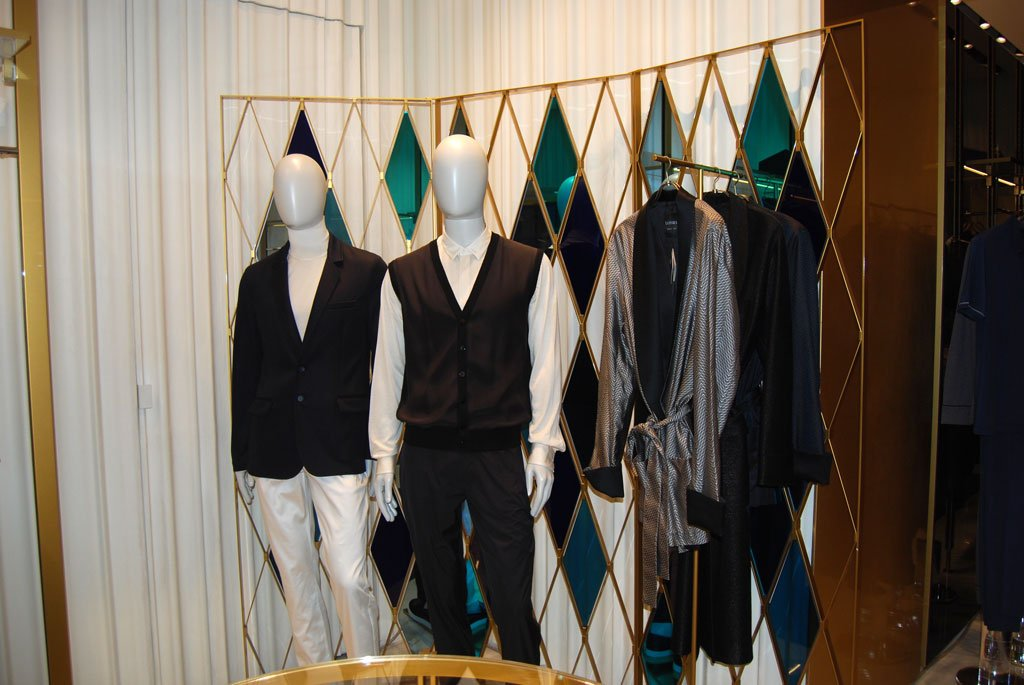 I nuovi spazi della boutique La Perla