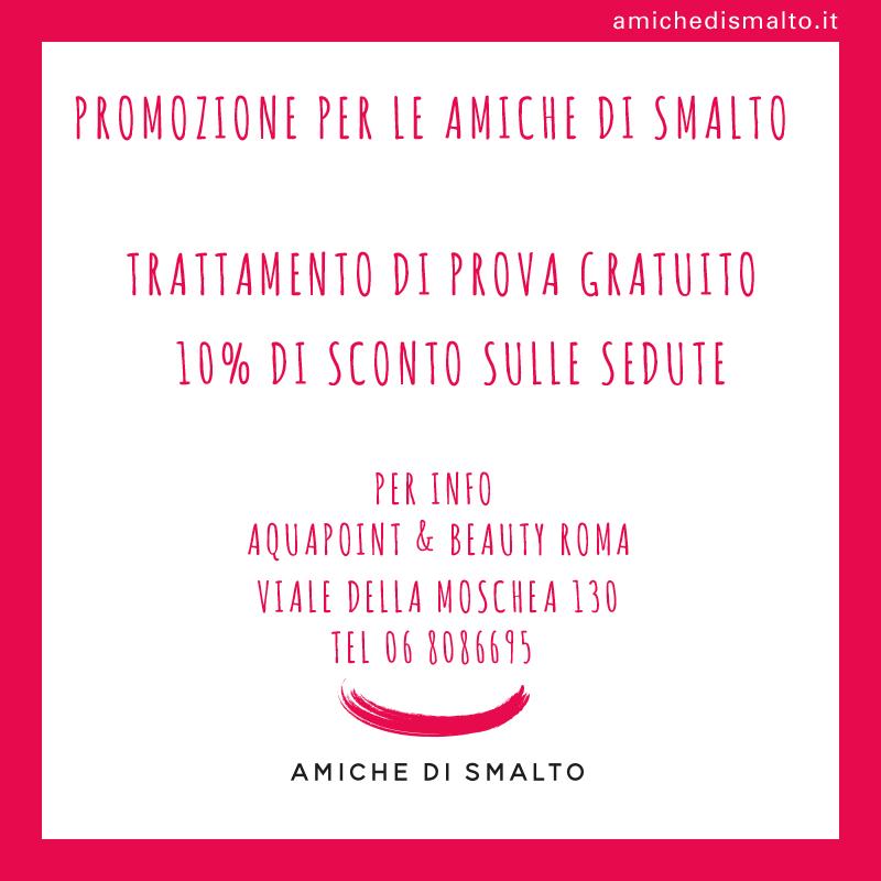 Promozione Aquapoint & Beauty Roma