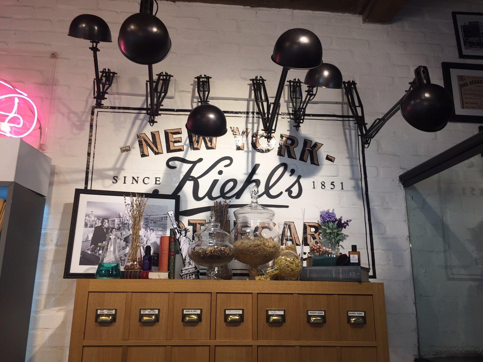 le boutique Kiehl's