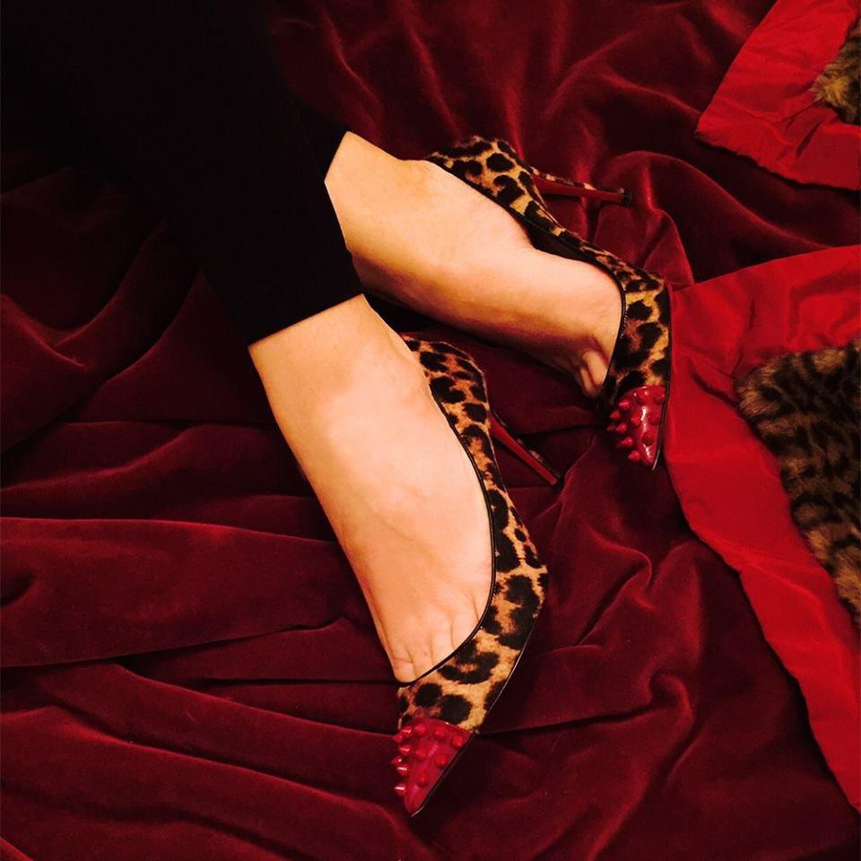 Scarpe rosse Christian Louboutin