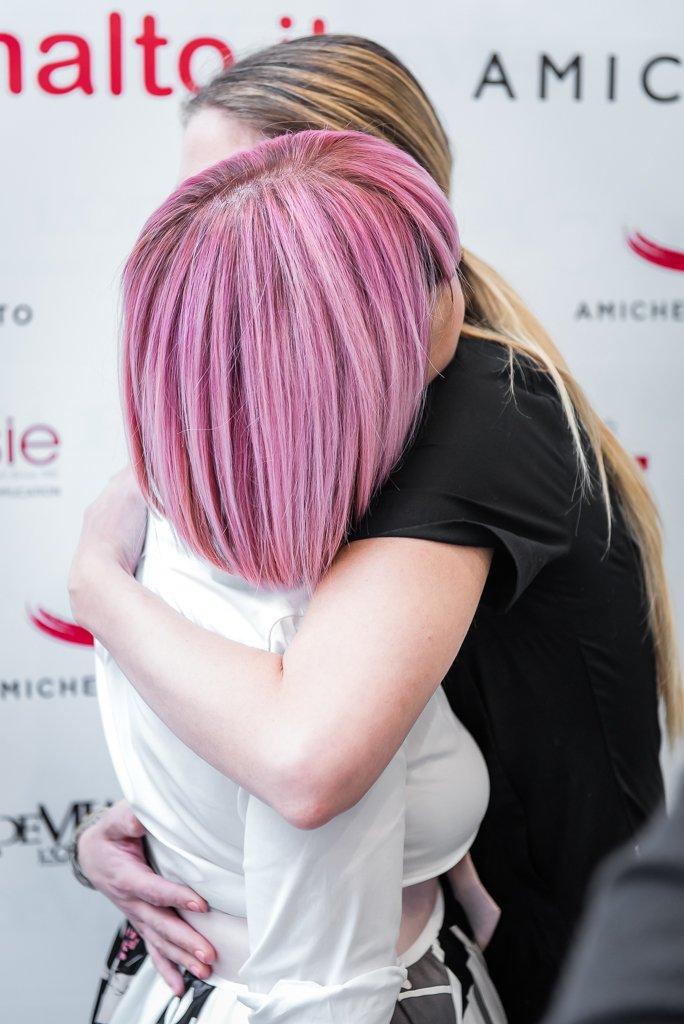 Pink hair al Beauty party di Amiche di Smalto