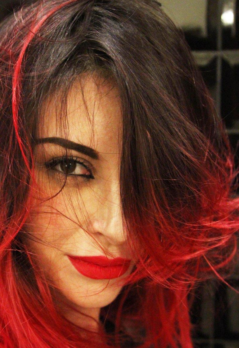 Colore capelli 2017: il rosso
