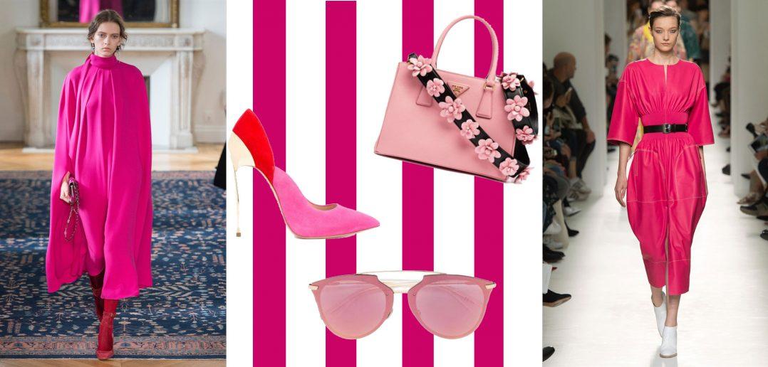 Tutte le tonalità di rosa per la primavera 2017