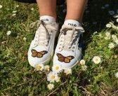 Le Sneaker Ricamate di MOA: la Capsule Dedicata agli Insetti