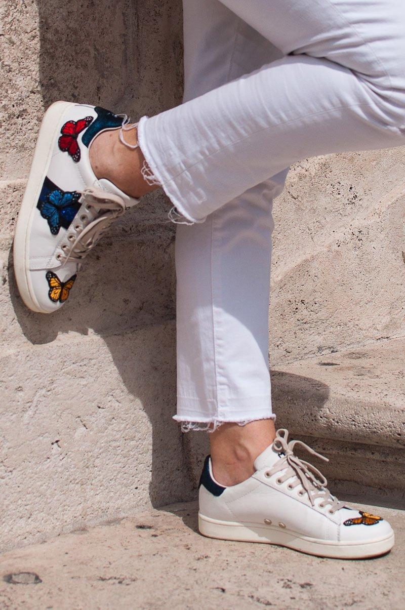 Sneaker ricamate Moa Master of Arts