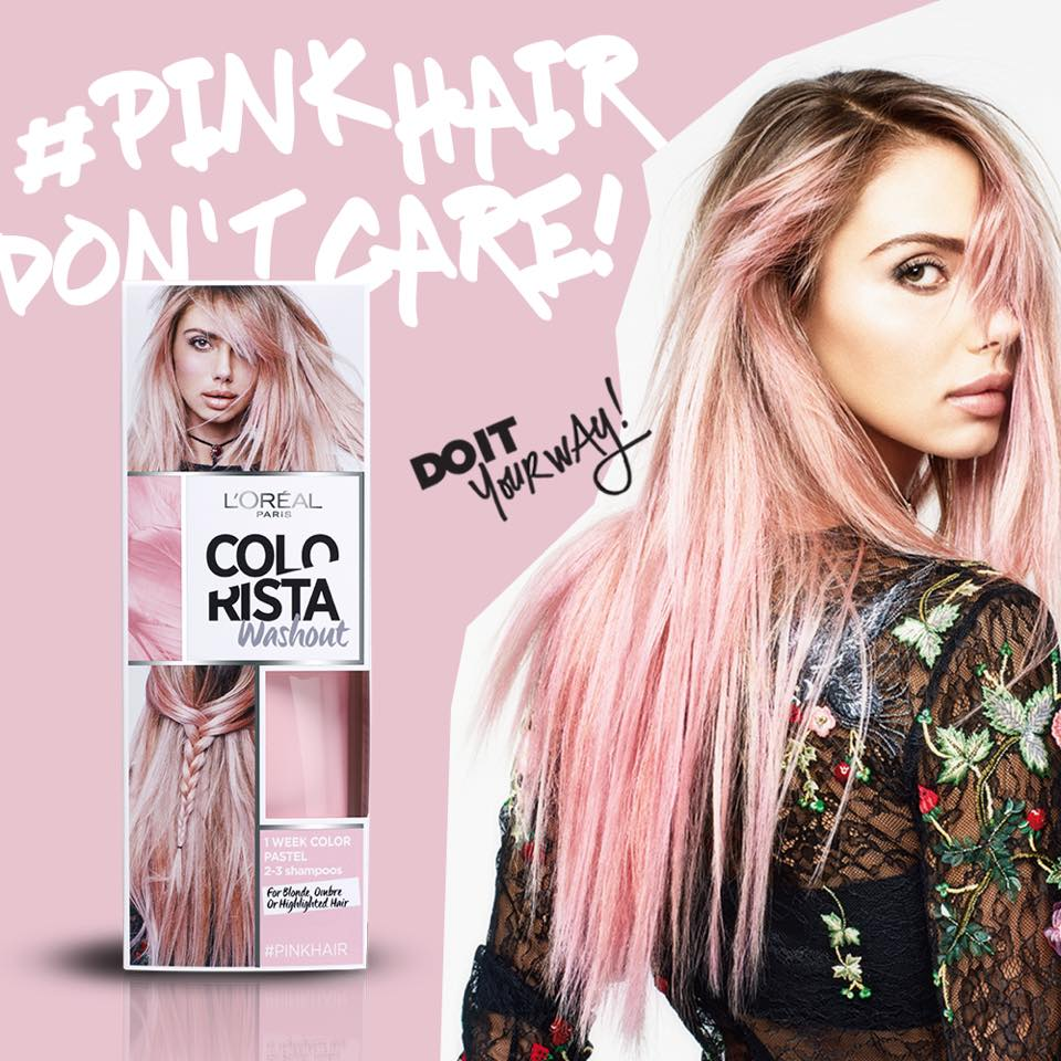 Come fare i capelli rosa pastello