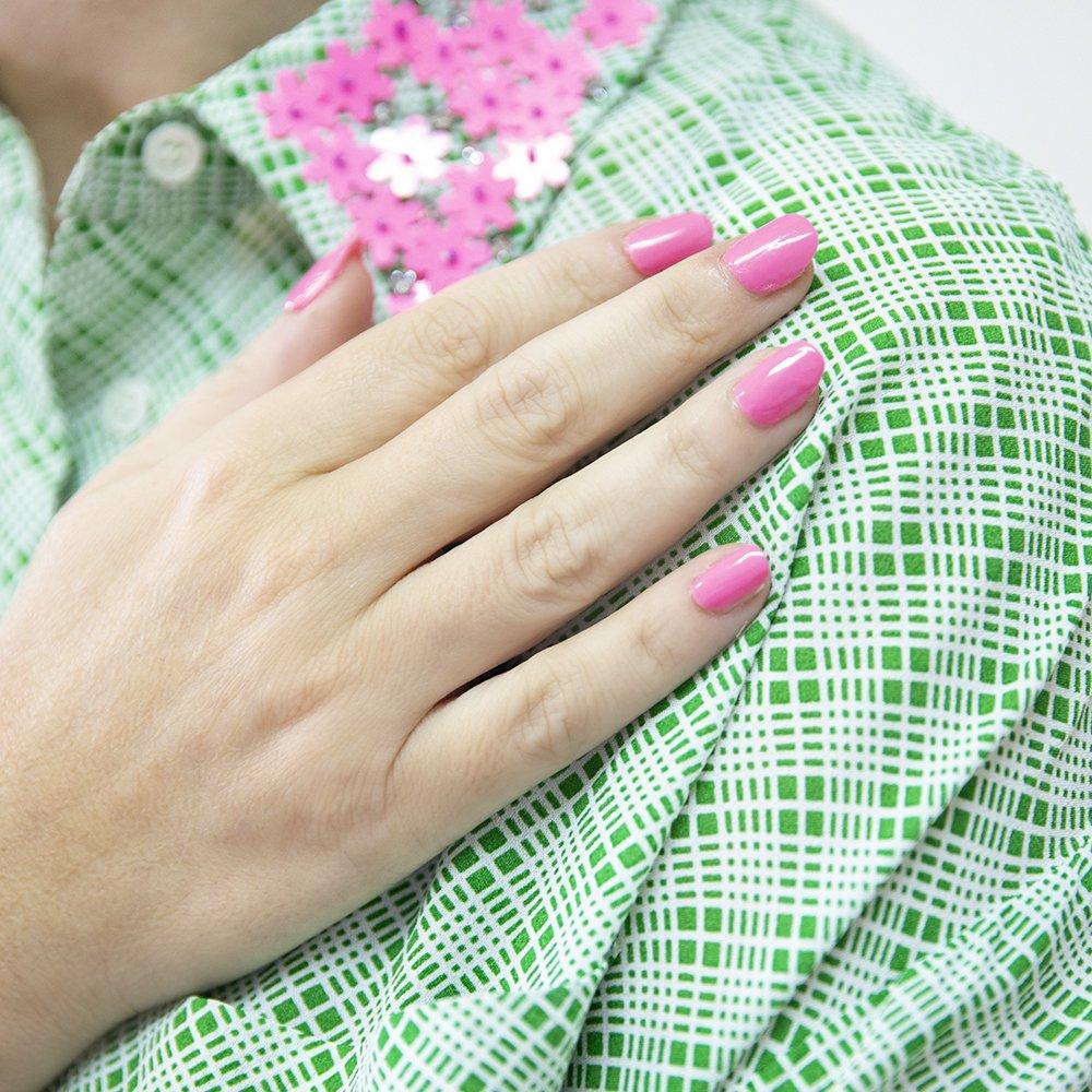 Foto di smalto rosa collezione Happiness Estrosa