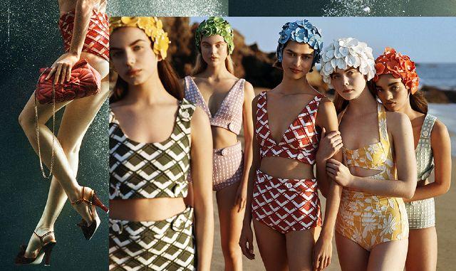 Costume Da Bagno Intero Vintage : Costumi da bagno i nuovi bikini e i costumi interi