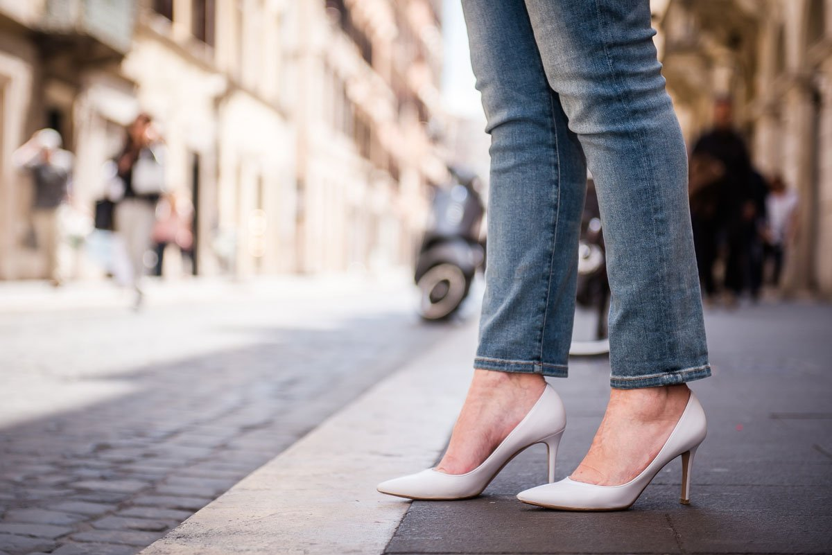 Tendenza pumps bianche