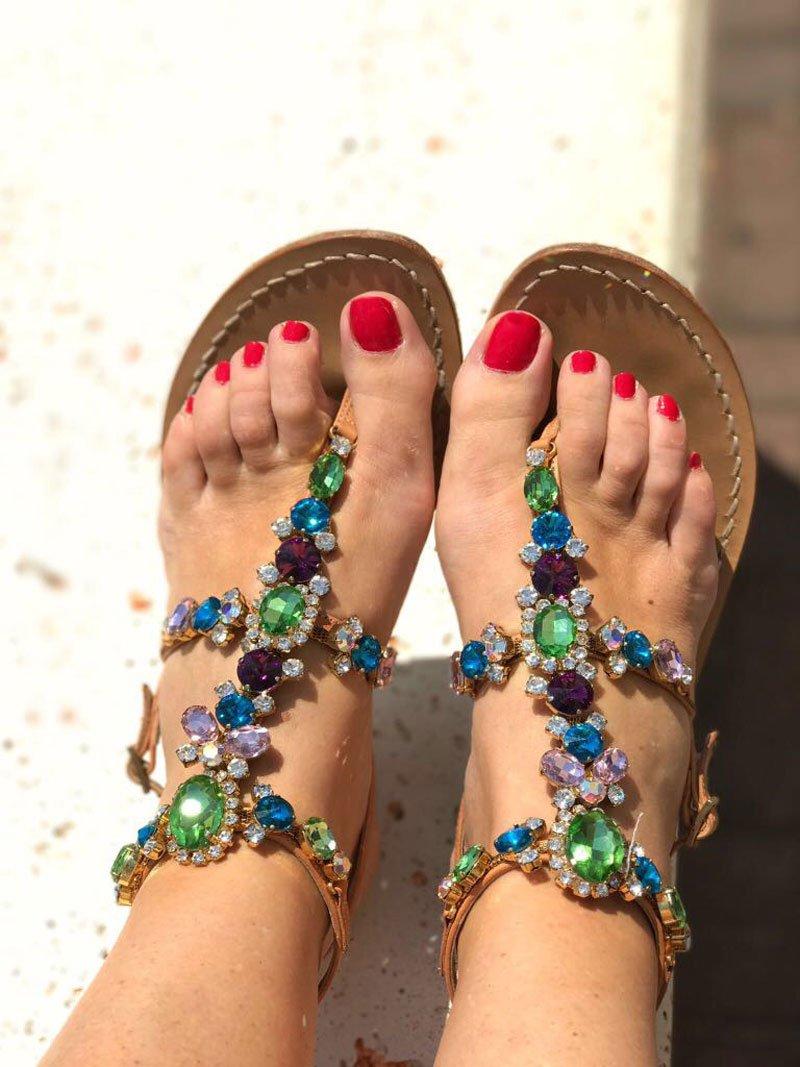 Colori smalti piedi estate 2017