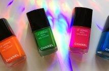 La collezione Smalti Chanel Neon Wave Collection
