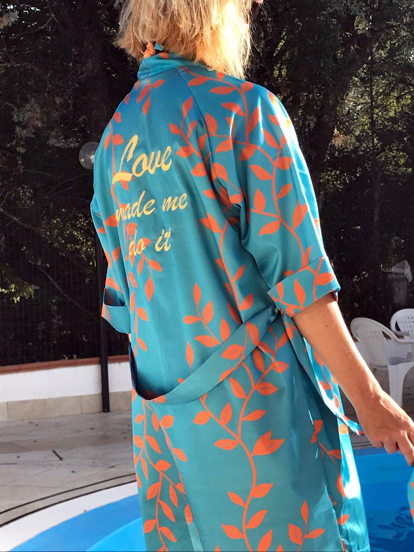 Kimono da spiaggia