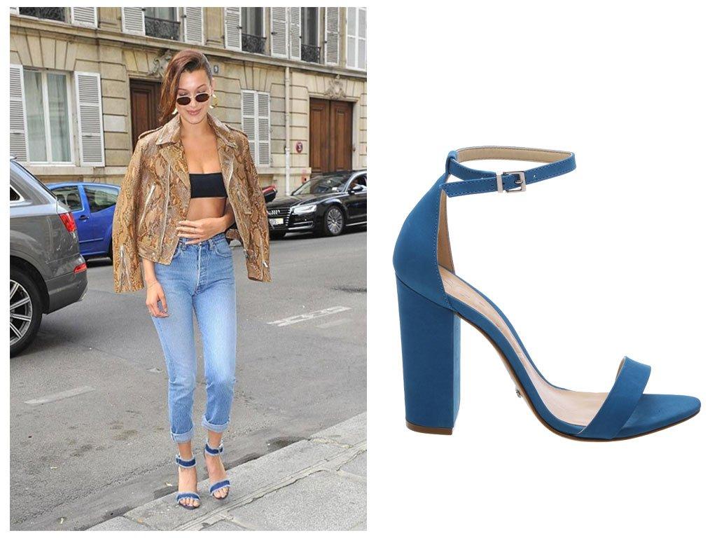La shoes collection di Schutz e Bella Hadid