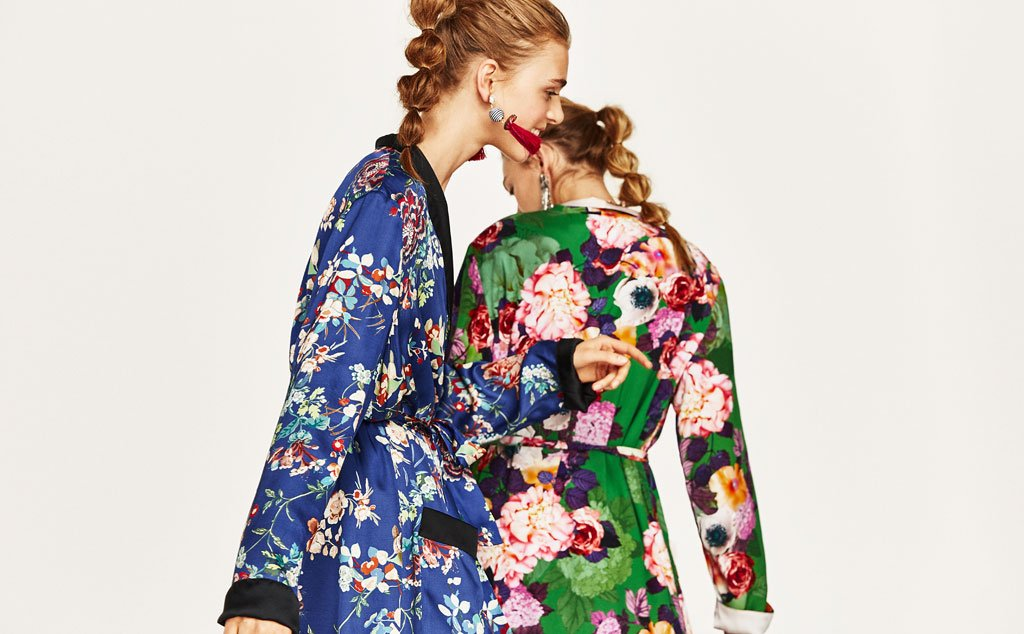 Il kimono di zara