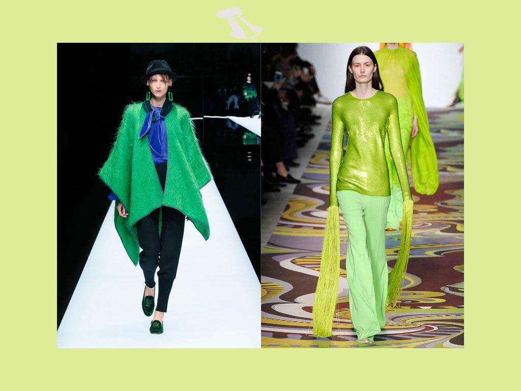 Colori moda autunno inverno 2017-2018: verde lime