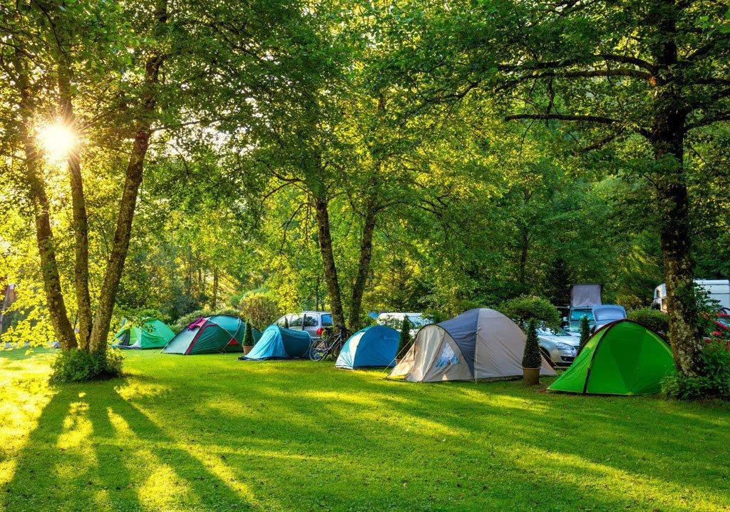 Vacanze in campeggio