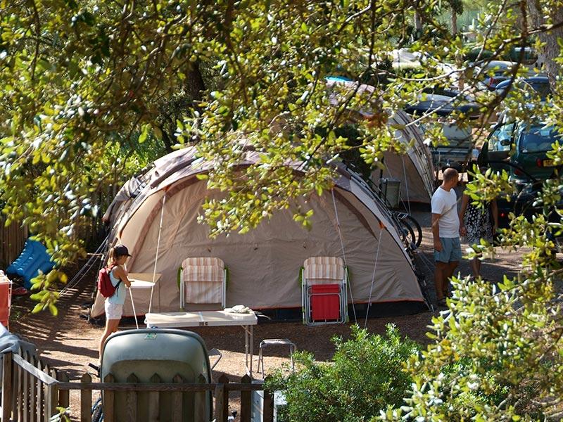 Diario di viaggio di vacanze in campeggio