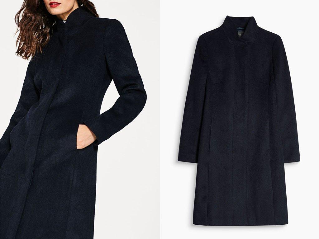 Moda donna autunno inverno 2017-2018: cappotto blu