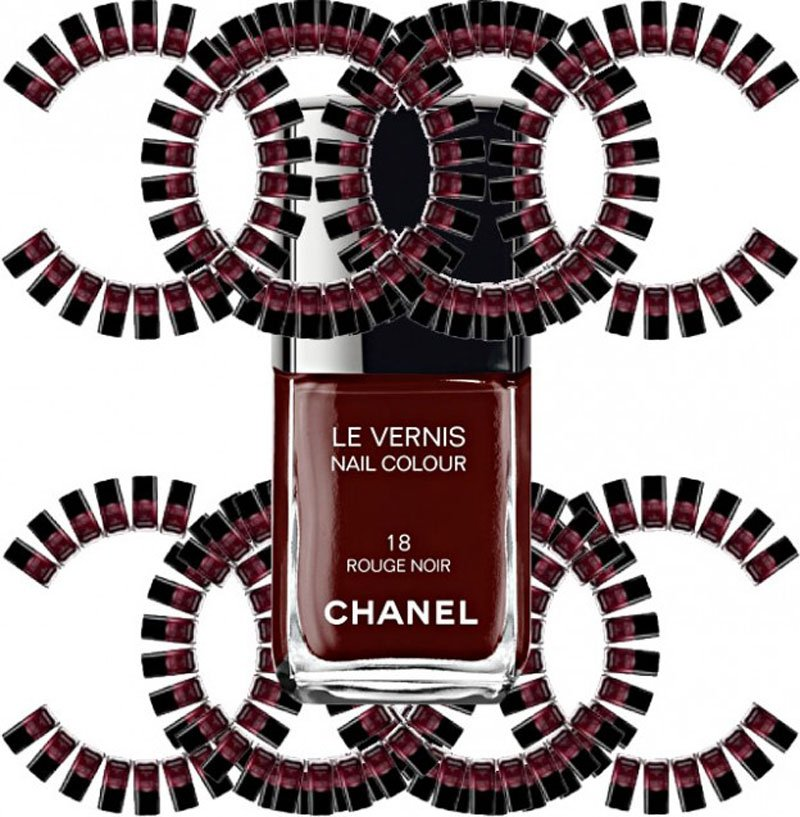 Smalto Rouge Noir Chanel