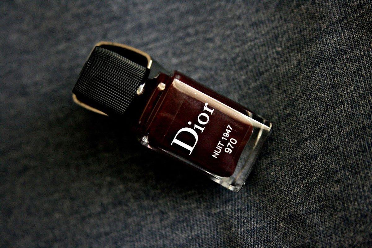 Smalto Rouge Noir firmato Dior