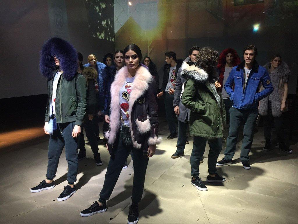 Piumini Autunno inverno 2017-2018: Mr e Mrs Italy
