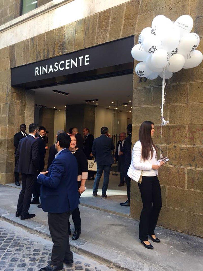 L'inaugurazione della Rinascente Via Del Tritone