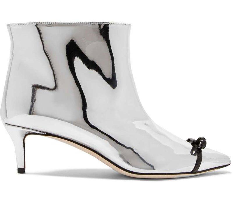 Tendenze moda argento: stivaletti Marco De Vincenzo