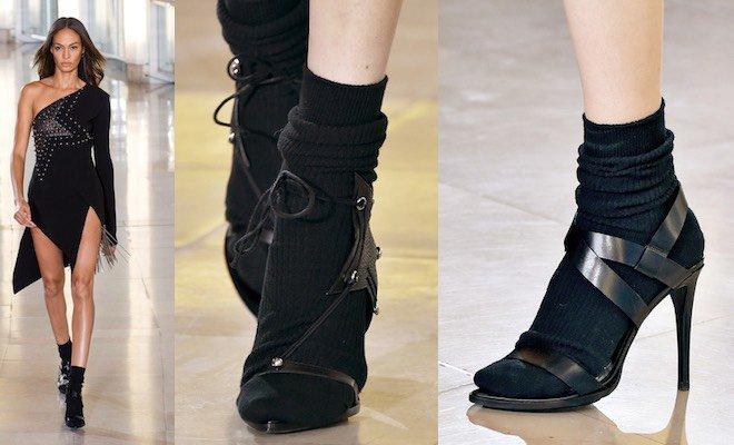 I sandali con i calzini