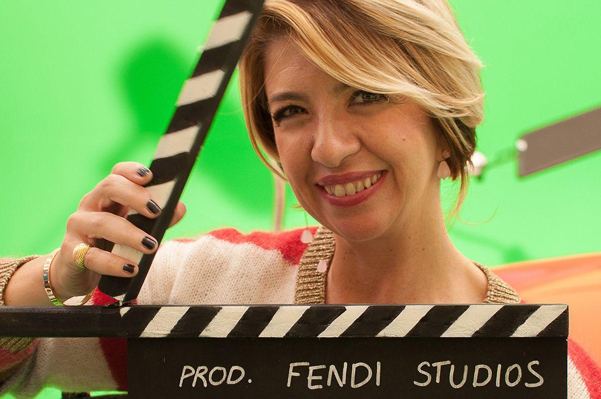 All'esposizione Fendi Studios