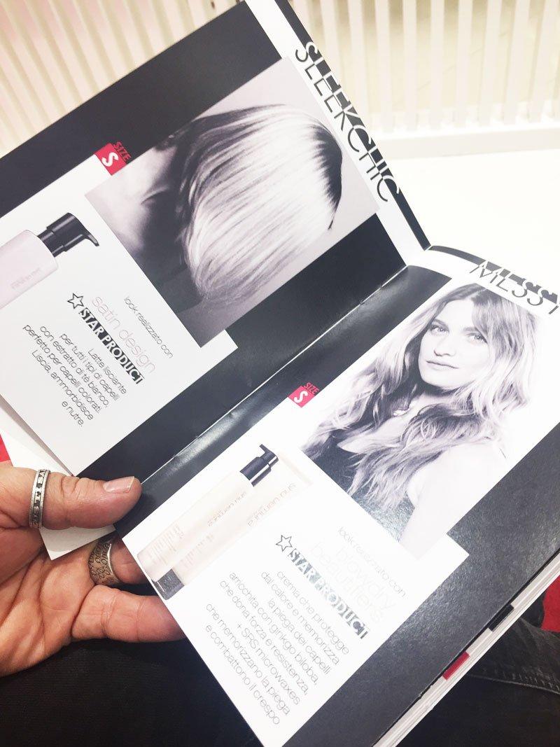 I servizi del Kerastase Hair Style Bar