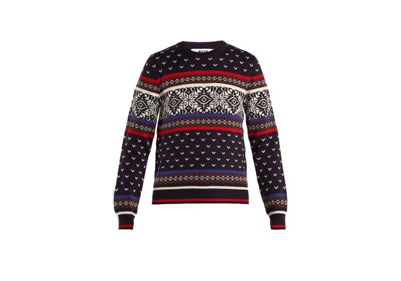 Maglione di Natale Msgm