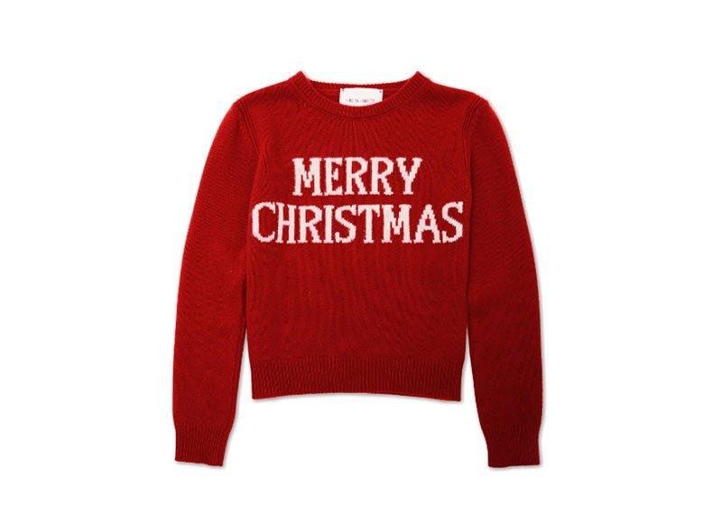 Il maglione di Natale di Alberta Ferretti